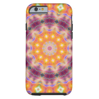 Pastel Star Mandala Tough iPhone 6 Case
