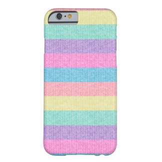 Pastel Striped Sweater Barely There iPhone 6 Case