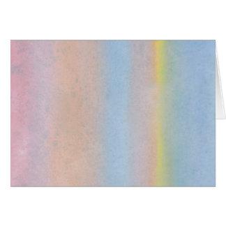 Pastel Stripes. Card
