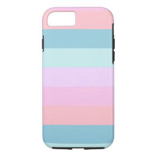 Pastel Stripes iPhone Case