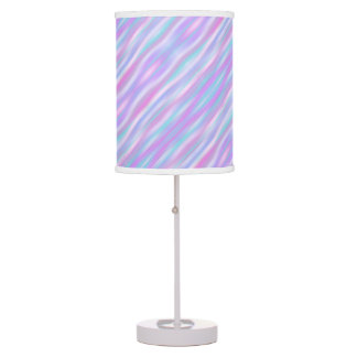 Pastel Stripes Table Lamp