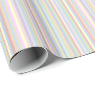 Pastel Stripes Wrapping Paper