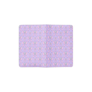 Pastel Sugar Skull Pocket Moleskine Notebook