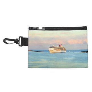 Pastel Sunrise with Cruise Ship Accessory Bag