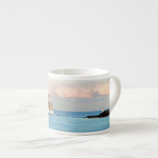 Pastel Sunrise with Cruise Ship Espresso Cup