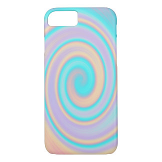 Pastel Swirl iPhone 7 Phone Case