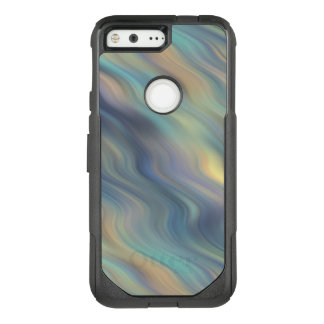 Pastel Swirling Currents Abstract OtterBox Commuter Google Pixel Case