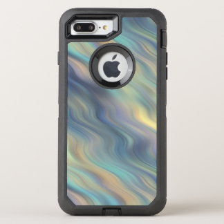 Pastel Swirling Currents Abstract OtterBox Defender iPhone 8 Plus/7 Plus Case