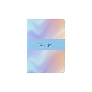 Pastel Swirls Passport Holder