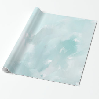 Pastel Teals Wrapping Paper