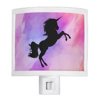Pastel Texture Unicorn Design Night Light