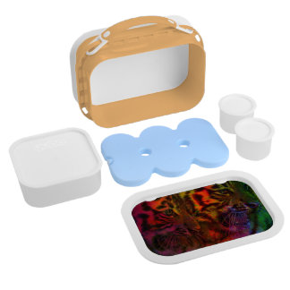 Pastel Tiger Cubs Lunch Boxes