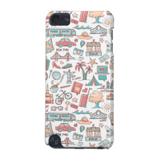 Pastel Tourist Pattern iPod Touch (5th Generation) Case