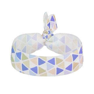 Pastel Triangle Hair Tie