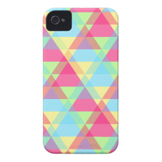 Pastel triangles iPhone 4 cover