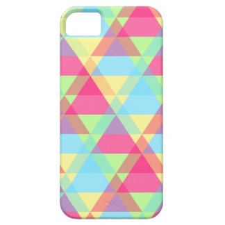 Pastel triangles iPhone 5 case