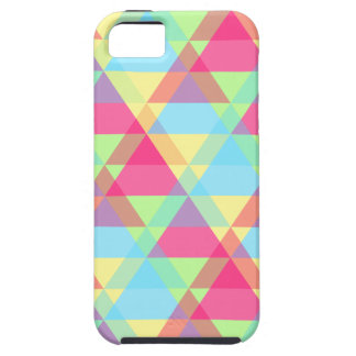 Pastel triangles iPhone 5 cover