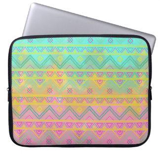 Pastel Tribal Chic Aztec Geometric Sleeve
