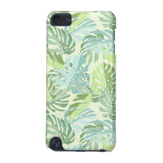 Pastel Tropical Palm Leaves iPod Touch 5G Case