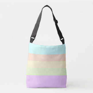 PASTEL UNDER THE SUN - LEMON CHIFFON CROSSBODY BAG