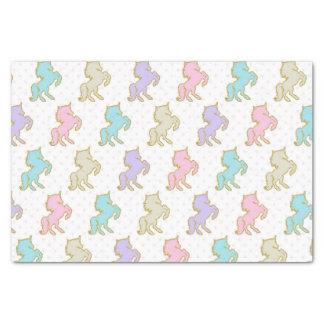 Pastel Unicorn Tissue Paper