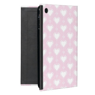 Pastel Valentine Hearts Case For iPad Mini