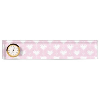 Pastel Valentine Hearts Name Plate