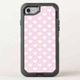 Pastel Valentine Hearts OtterBox Defender iPhone 8/7 Case