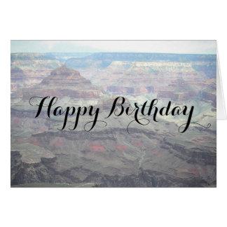 Pastel Views Happy Birthday Card