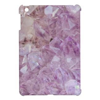 Pastel Violet Crystal Quartz iPad Mini Covers