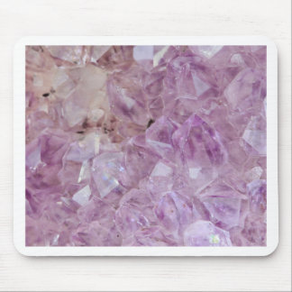 Pastel Violet Crystal Quartz Mouse Pad