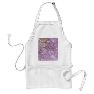 Pastel Violet Crystal Quartz Standard Apron