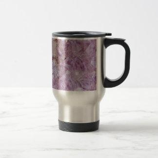 Pastel Violet Crystal Quartz Travel Mug