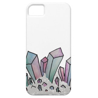 Pastel Watercolor Crystal Cluster iPhone 5 Cover