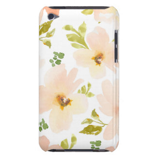 Pastel Watercolor Flowers. Watercolor Flower Gift iPod Case-Mate Case