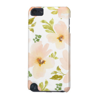 Pastel Watercolor Flowers. Watercolor Flower Gift iPod Touch 5G Cases