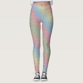 Pastel Weave Leggings