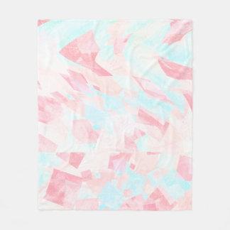 Pastel Whimsy Fleece Blanket