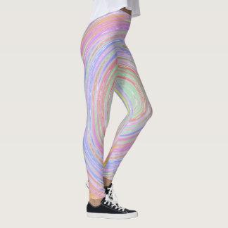 Pastel Whirlpool Leggings