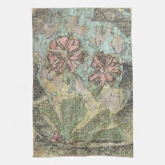 Pastel Wild Flowers Kitchen Towel