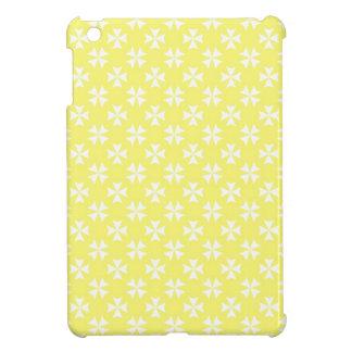 Pastel Yellow Crosses iPad Mini Case