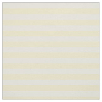 Pastel Yellow Striped Fabric