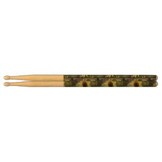 Pastel Yellow Sunflower Drumsticks