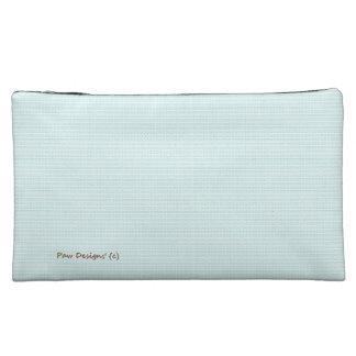 Pastel's_Bird-Egg-Blue_Texture's Fabric_Sueded_Bag Makeup Bag