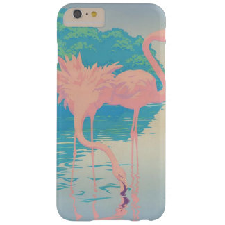 Pastels Flamingo tropical iphone case