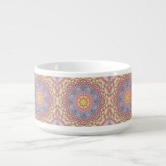 Pastels Kaleidoscope     Chili Bowls