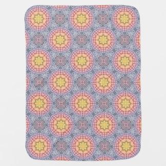 Pastels Vintage Kaleidoscope Baby Blankets