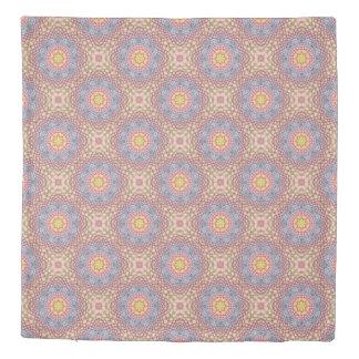 Pastels Vintage Kaleidoscope   Duvet Covers