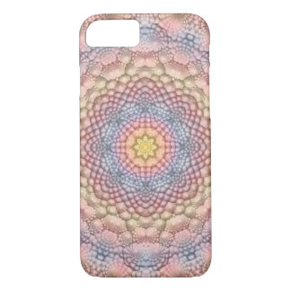 Pastels Vintage Kaleidoscope iPhone Cases