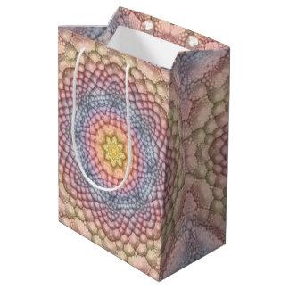 Pastels Vintage Kaleidoscope Medium Gift Bag